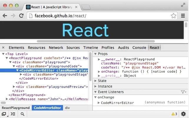 React Developer Tools